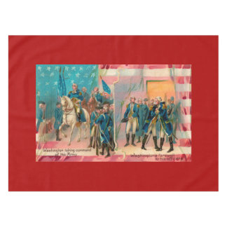 George Washington and Troops Tablecloth