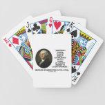 George Washington Arbitrary Power Liberty Abused Card Decks