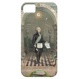 George Washington as a Freemason iPhone SE/5/5s Case