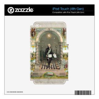George Washington as a Freemason iPod Touch 4G Skin