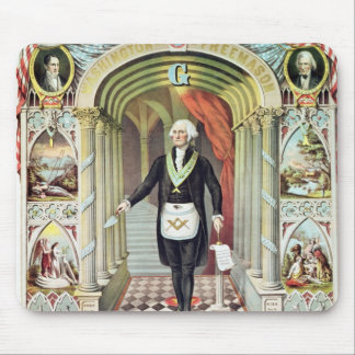 George Washington as a Freemason Mousepads