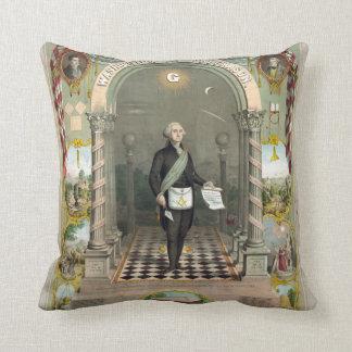 George Washington as a Freemason Pillows