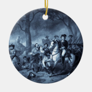 George Washington as a Soldier ornament