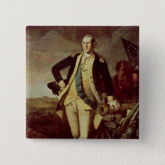 George Washington at Princeton, 1779 Button