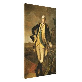 George Washington at Princeton, 1779 Canvas Prints