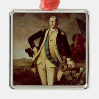 George Washington at Princeton, 1779 Metal Ornament