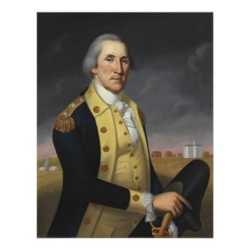 George Washington At Princeton Poster