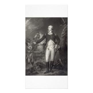 George Washington at Trenton collector photo cards