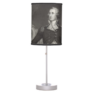 George Washington at Trenton Desk Lamps