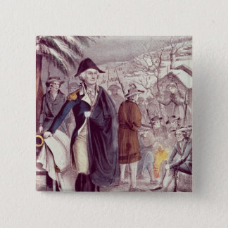 George Washington at Valley Forge Button