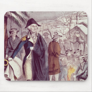 George Washington at Valley Forge Mouse Pad
