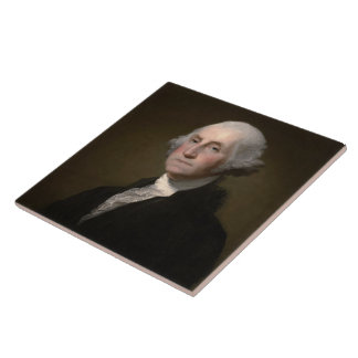 George Washington Azulejo Cuadrado Grande