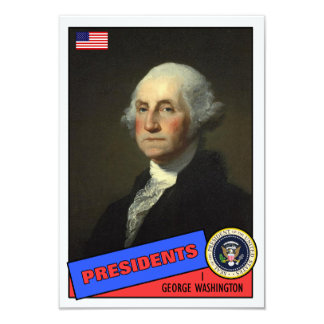 George Washington Baseball Card