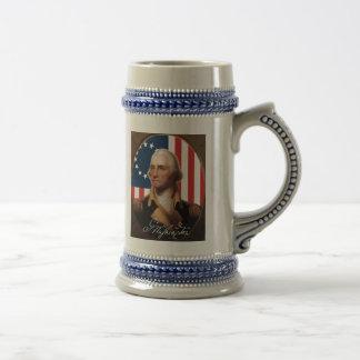 George Washington Beer Stein