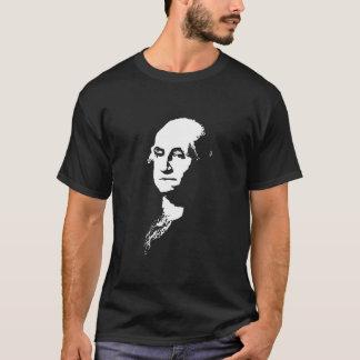 George Washington -- Black and White T-Shirt