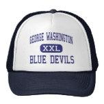 George Washington Blue Devils Middle Eleanor Hats