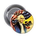 George Washington - botón Pin Redondo De 2 Pulgadas