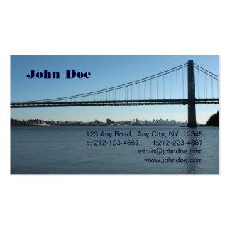 George Washington Bridge Business Card Templates