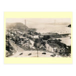 George Washington Bridge Construction Vintage Postcards