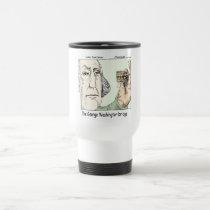 George Washington Bridge & Dentures Funny Gift Travel Mug