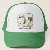 George Washington Bridge & Dentures Funny Gift Trucker Hat