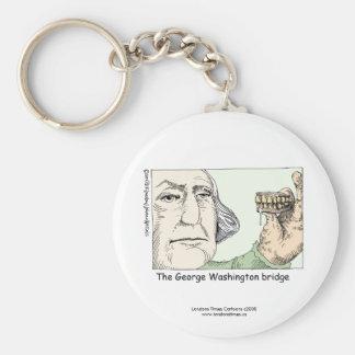 George Washington Bridge Funny Key Chain Keychains