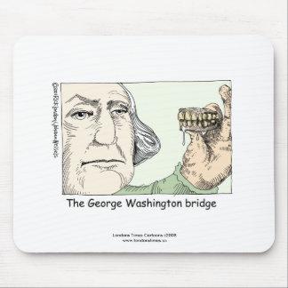 George Washington Bridge Funny Mouse Pad Mousepads