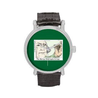 George Washington Bridge Funny Unisex Watch Watch