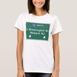 George Washington Bridge Interstate I-95 Newark NJ T-Shirt