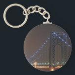 "George Washington Bridge Keychain<br><div class=""desc"">GW Bridge</div>"