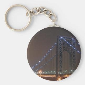 George Washington Bridge Keychain