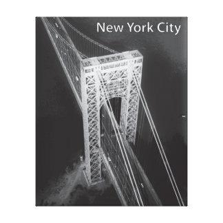 George Washington Bridge New York City Stretched Canvas Prints