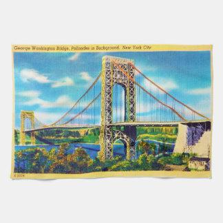 George Washington Bridge, New York City Kitchen Towels