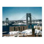 George Washington Bridge, New York City Post Cards