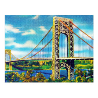 George Washington Bridge, New York City Postcard