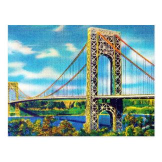 George Washington Bridge, New York City Postcard