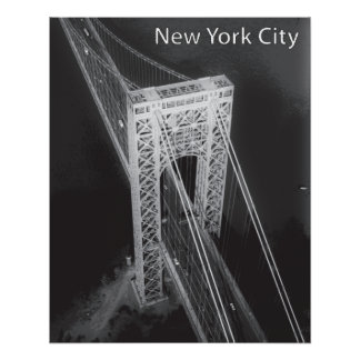 George Washington Bridge New York City Perfect Poster