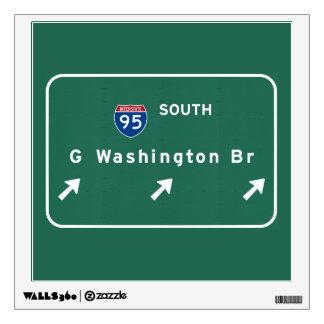 George Washington Bridge NYC New York City NY Wall Sticker