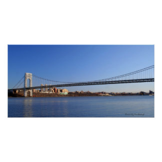 George Washington Bridge Print