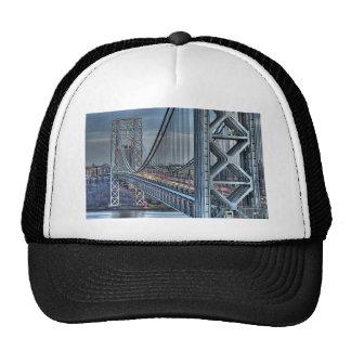 George Washington Bridge & The Red Lighthouse NYC Trucker Hat