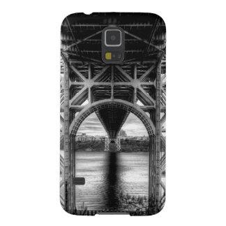 George Washington Bridge - unique perspective Galaxy S5 Cover