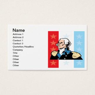 George Washington Business Card