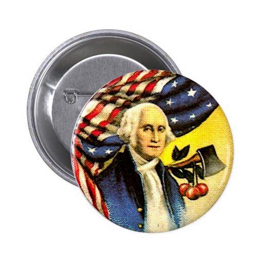 George Washington - Button