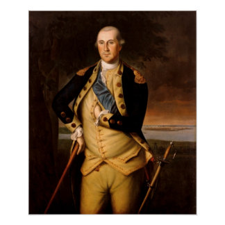 George Washington by Charles Wilson Peale Posters