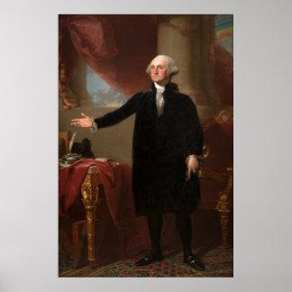 GEORGE WASHINGTON by Gilbert Stuart (Lansdowne) Poster