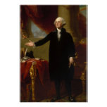George Washington by Gilbert Stuart Poster