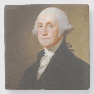 George Washington, c.1821 (aceite en lona) Posavasos De Piedra