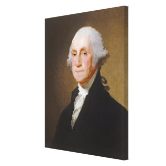 George Washington, c.1821 (oil on canvas) Canvas Print