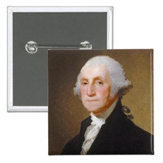 George Washington, c.1821 (oil on canvas) Button