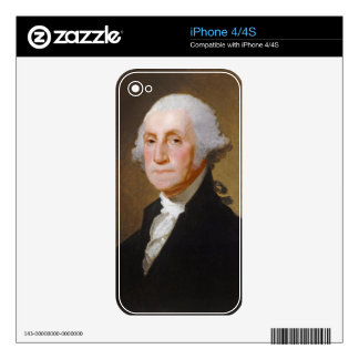 George Washington, c.1821 (oil on canvas) iPhone 4S Skin
